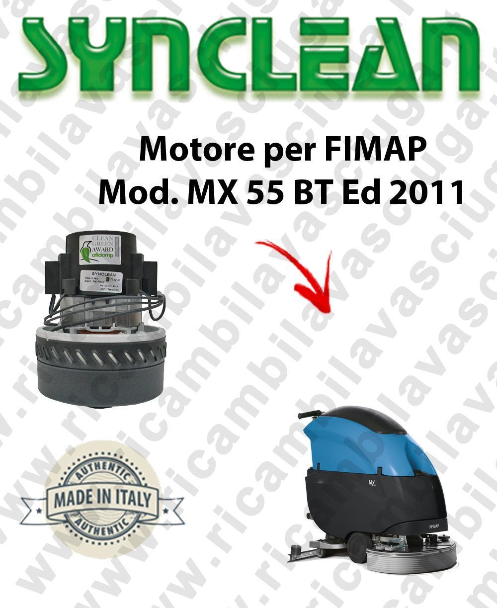 MX 55 Ed. 2011 moteur aspiration SYNCLEAN autolaveuses FIMAP