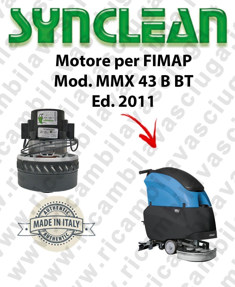 MMX 43 B-BT Ed. 2011 moteur aspiration SYNCLEAN autolaveuses FIMAP