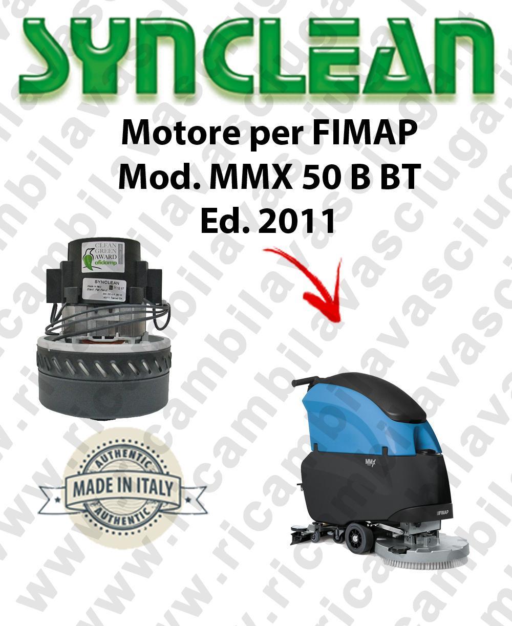 MMX 50 B-BT Ed. 2011 moteur aspiration SYNCLEAN autolaveuses FIMAP