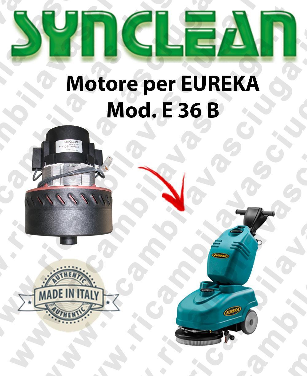 E 36 B moteur aspiration SYNCLEAN  pour autolaveuses EUREKA