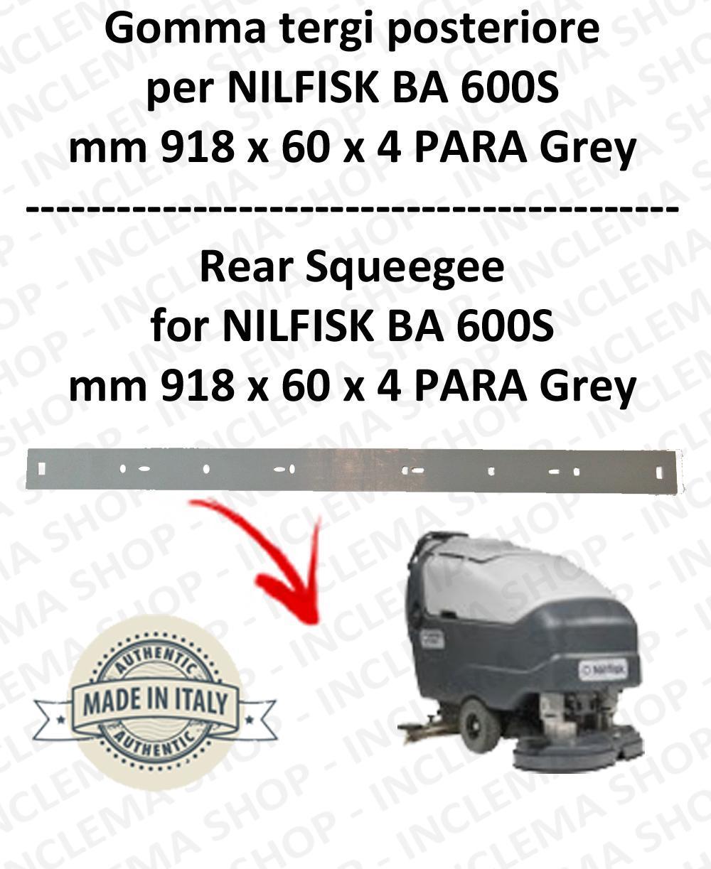 BA 600S Bavette ARRIERE pour autolaveuses  NILFISK