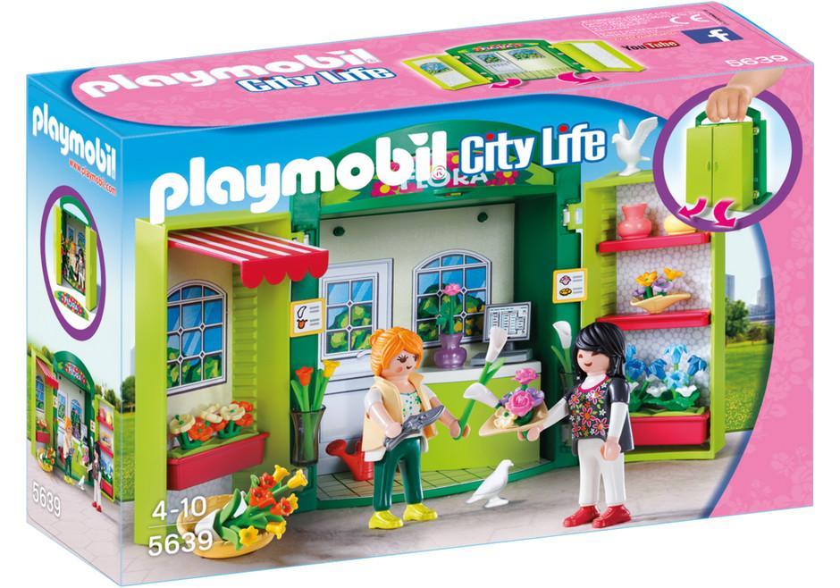 PLAYMOBIL BOX NEGOZIO DI FIORI  5639