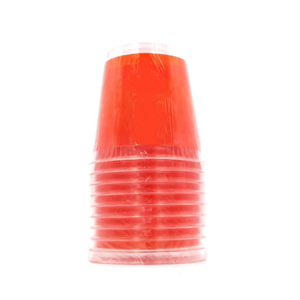Bicchieri Arancio in plastica