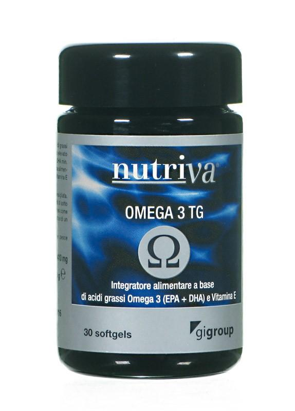 NUTRIVA OMEGA 3 TG INTEGRATORE CARDIOVASCOLARE SOFTGEL