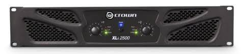 CROWN XLI2500 AMPLIFICATORE 2X500W