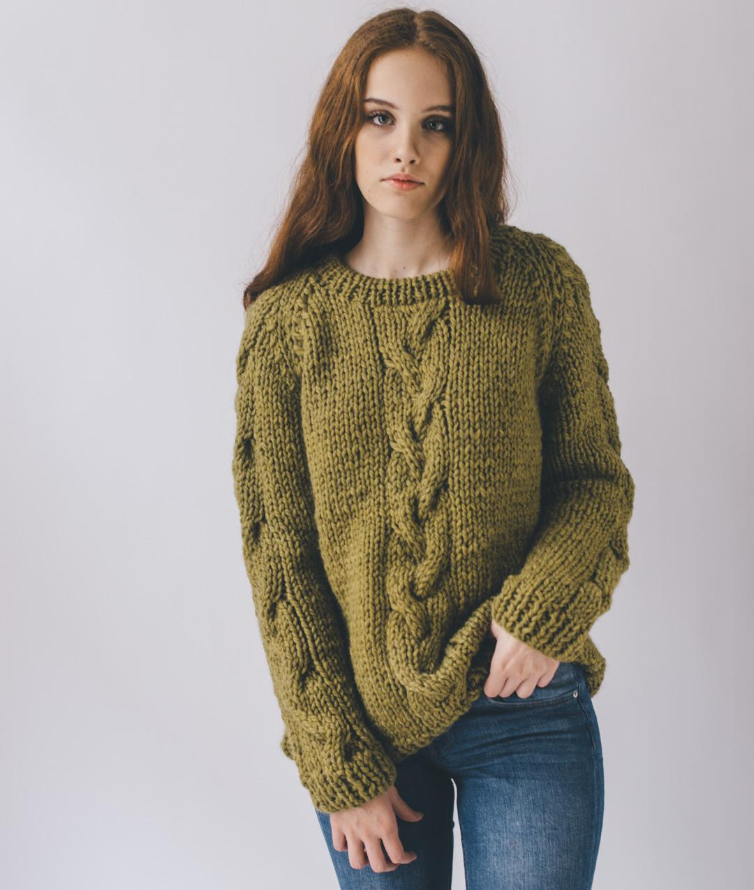Wool  - Kits - Blue Hill Jumper - Round Neck - 1