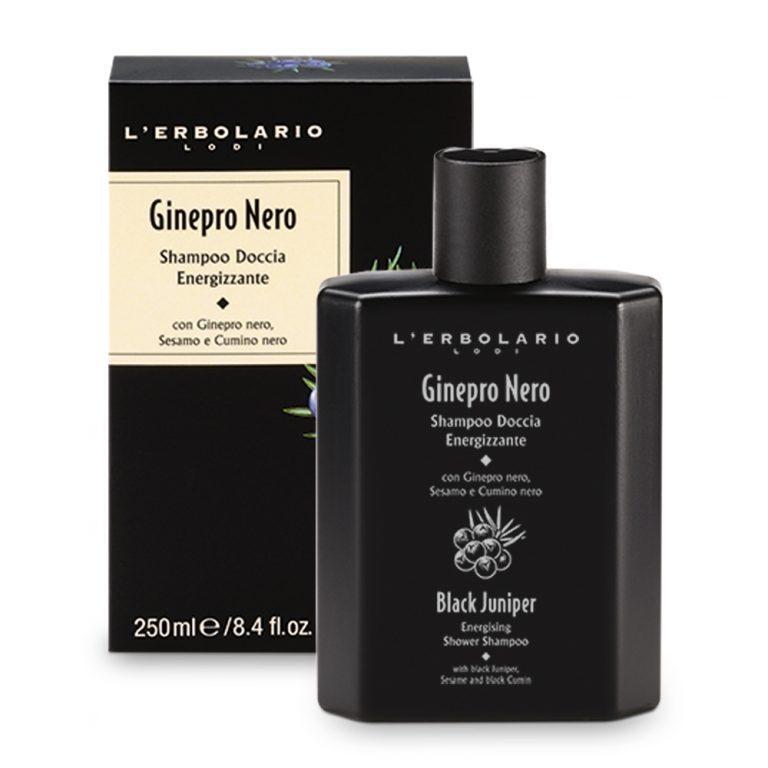 Ginepro Nero Shampoo Doccia Energizzante 250 ml