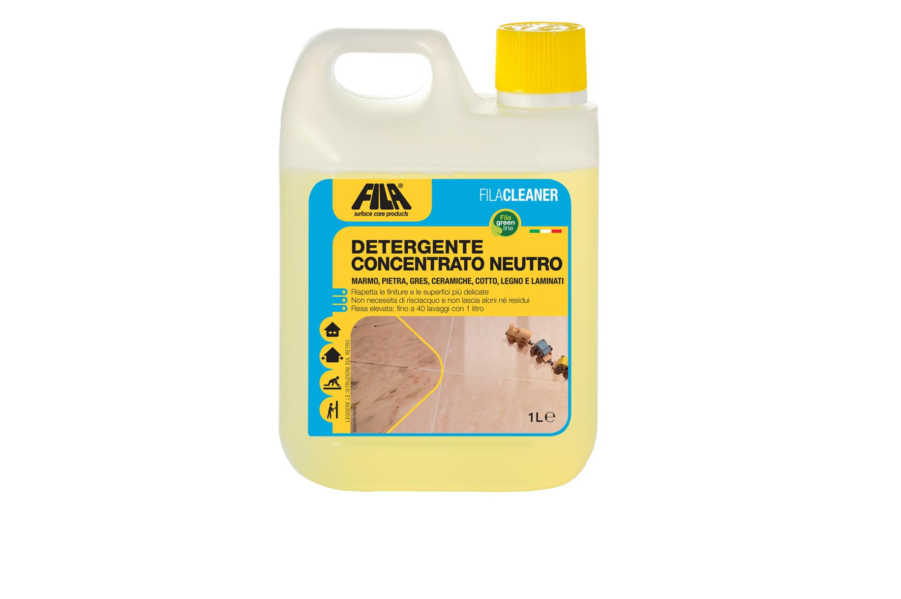 Detergente Concentrato Neutro Filacleaner 1lt FILA