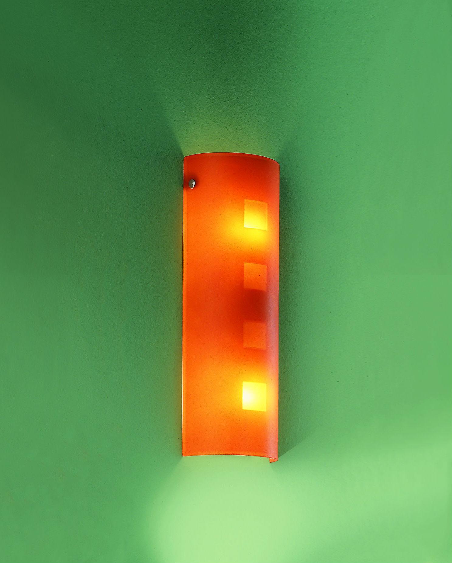 Applique CITY 35 giallo E14 LED
