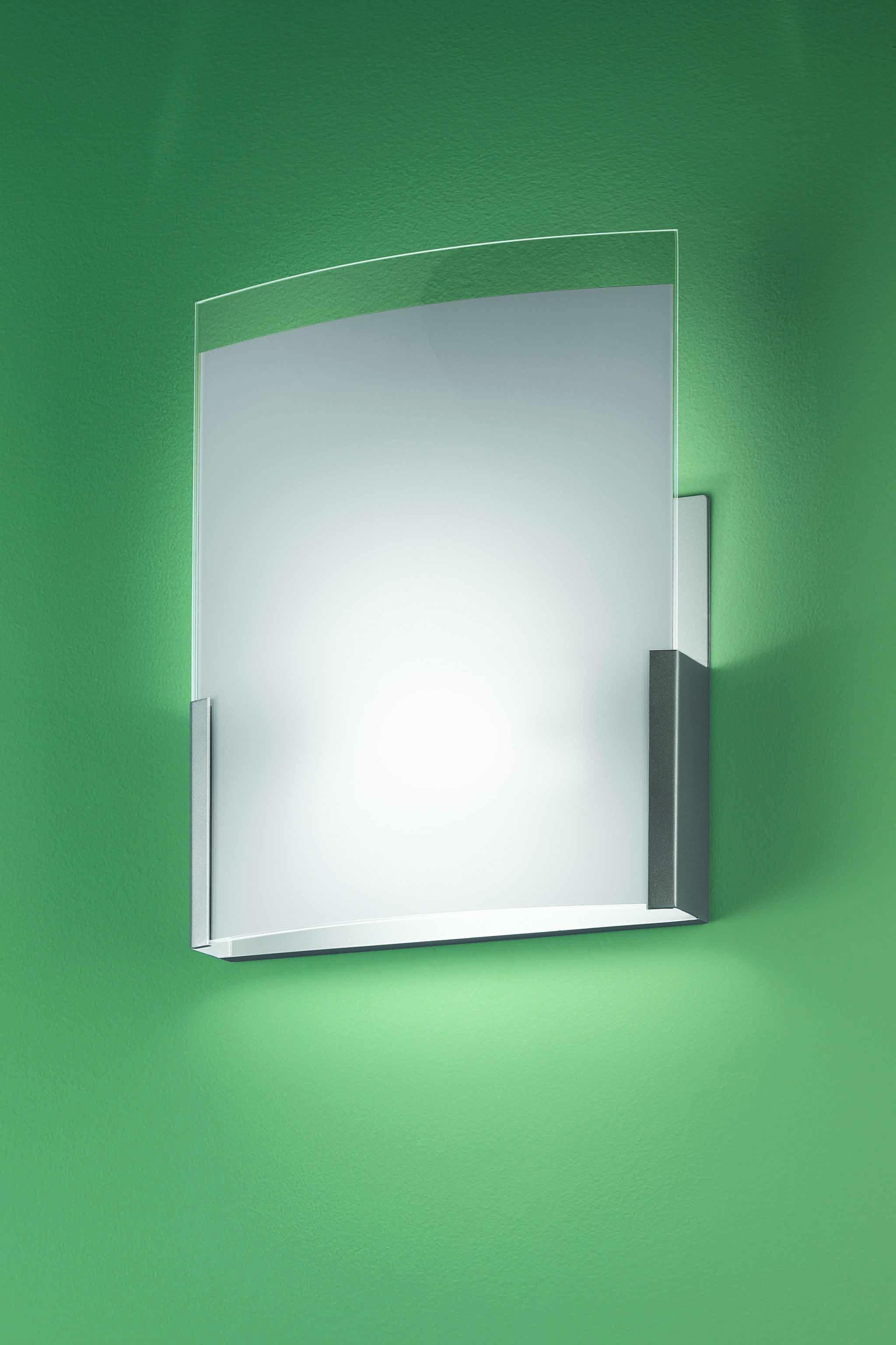 Applique Nui-Nui 50 grigio argento | LED