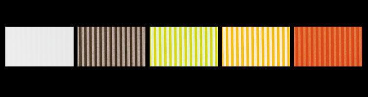 Plafoniera quadrata SAMBA 40 LED arancio,giallo,verde,marrone