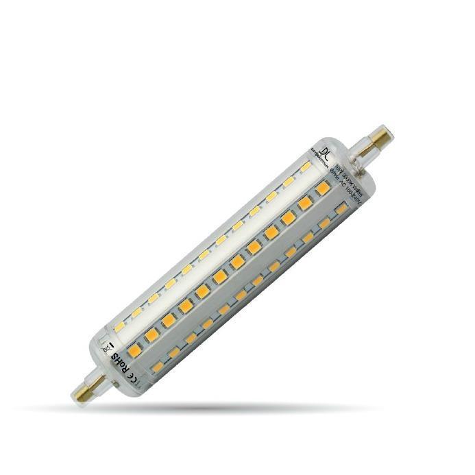 Applique COVER 76 LED acciaio lucido