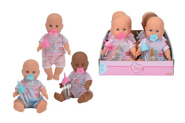 BAMBOLOTTO NEW BORN BABY CM.30 503-6686 SIMBA NEW