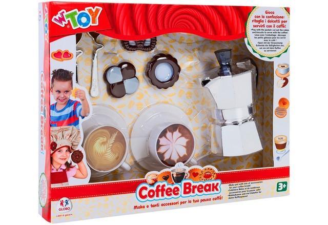 MOKA DA CAFFE. 10PZ C/2 TAZZINE/BISCOTTI 37778 GLOBO