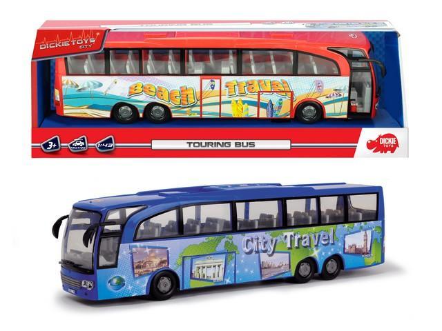 Dickie Bus Turismo, cm.27 - 2 asst. 203745005 SIMBA NEW
