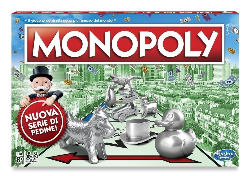 Monopoly RETTANGOLARE C1009103 HASBRO EUROPA