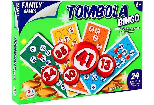 TOMBOLA 24 CARTELLE 40313 GLOBO