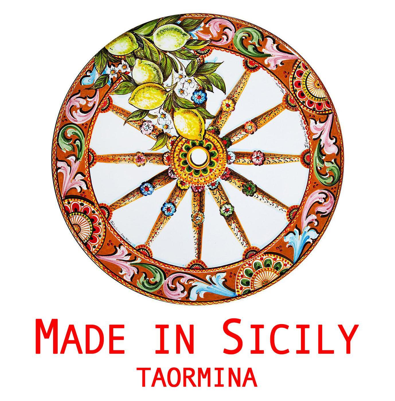 Made in Sicily Taormina, ceramiche siciliane, tavoli in pietra ...