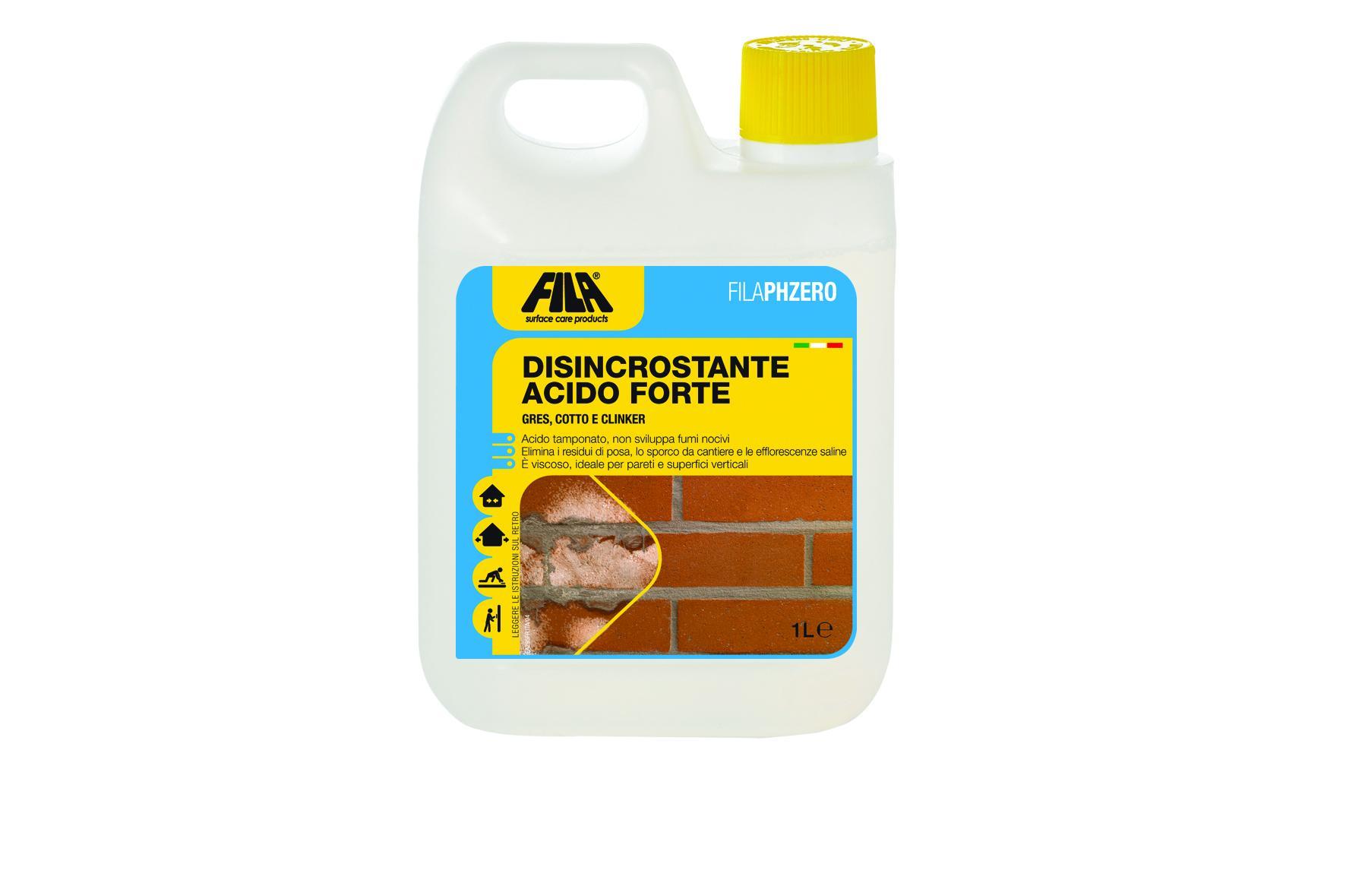 Disincrostante Acido Forte 1lt FilaPhzero FILA