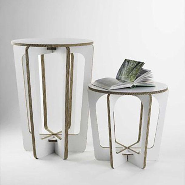 tavolini in cartone