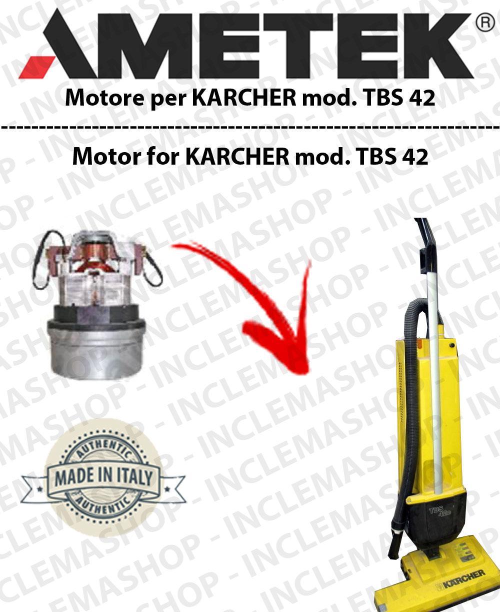 f84bb6e5ca9d27 TBS 42 moteur AMETEK di aspirazione pour shampouineuse KARCHER