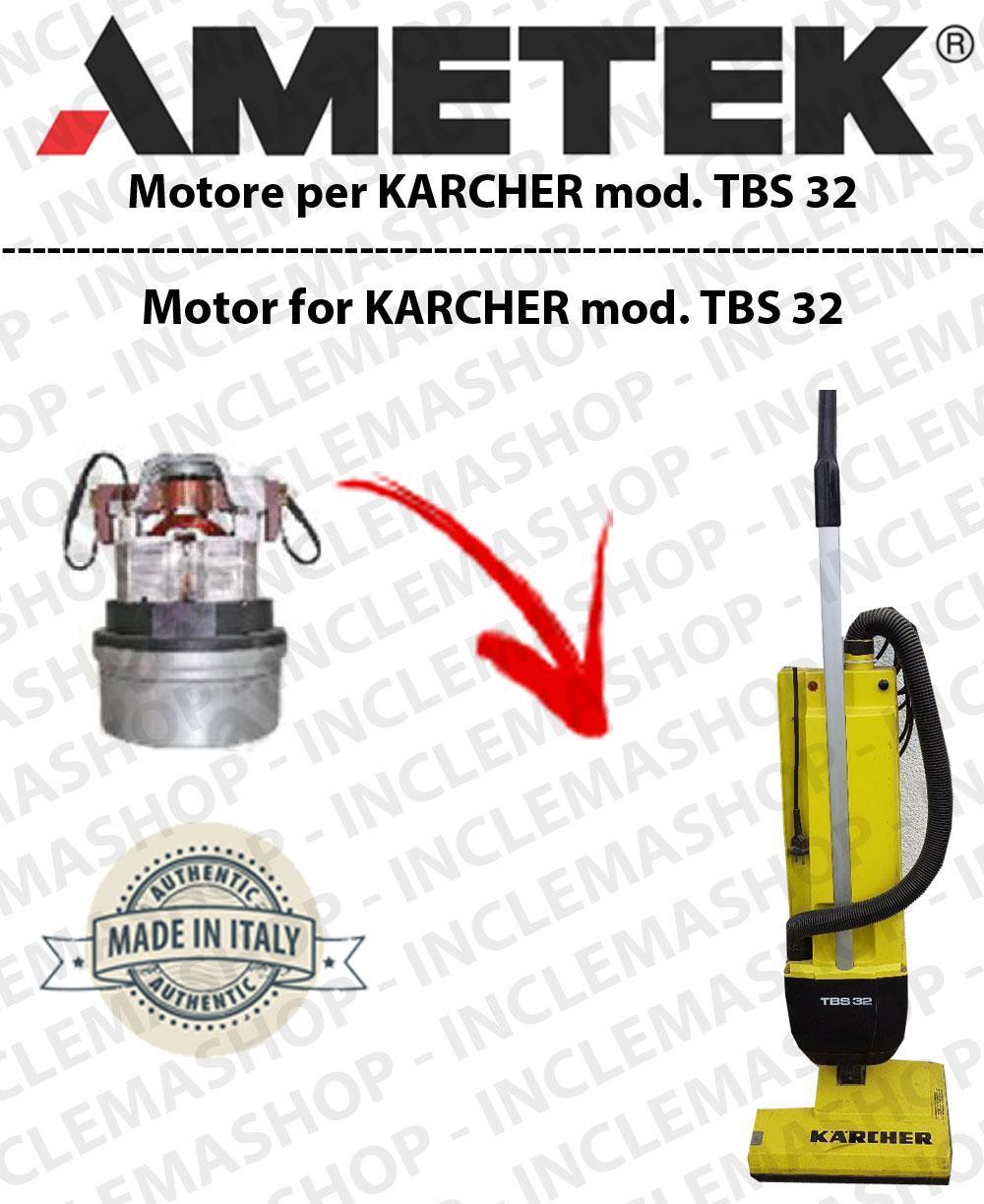 TBS 32 Saugmotor AMETEK für Klopfsauger KARCHER