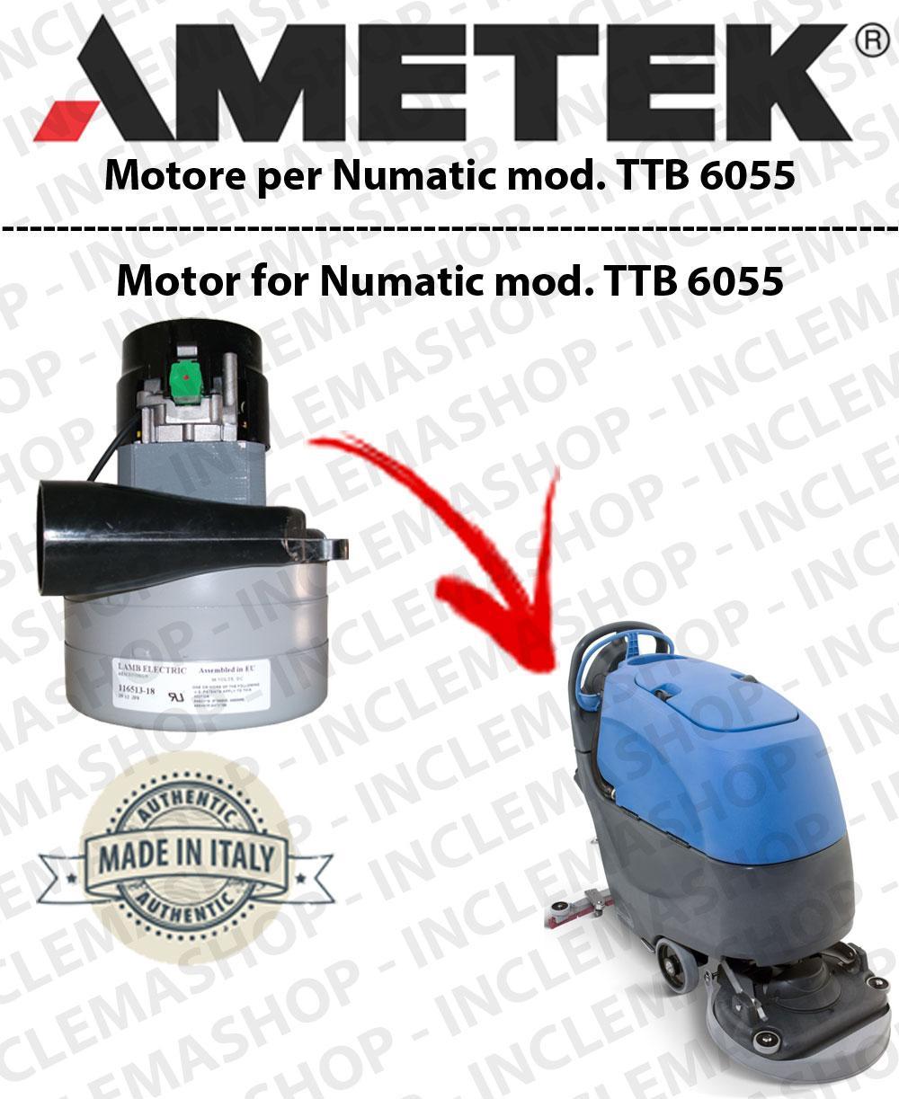 TTB 6055 Saugmotor LAMB AMETEK für Scheuersaugmaschinen NUMATIC