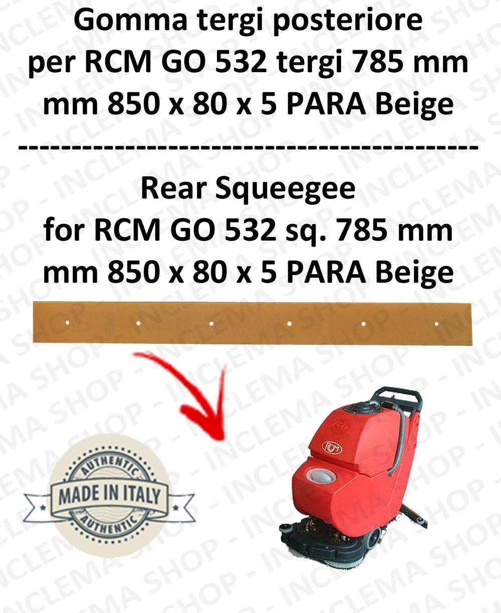 GO 532 Hinten Sauglippen 785 mm für Scheuersaugmaschinen RCM