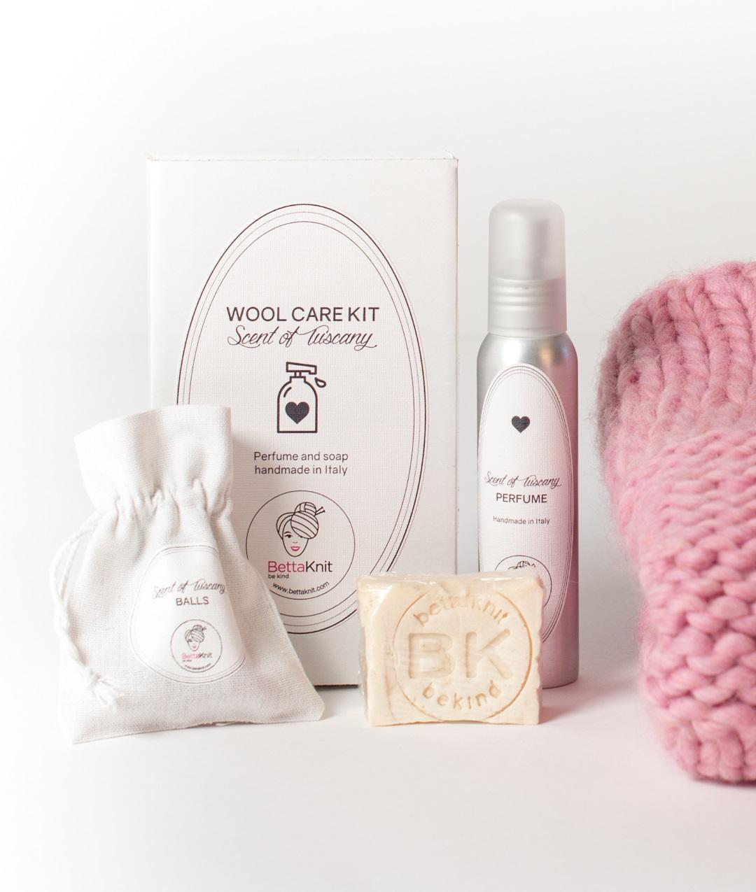 Kit Lavaggio lana  - Novità - Wool Care Kit - Scent of Tuscany - 1