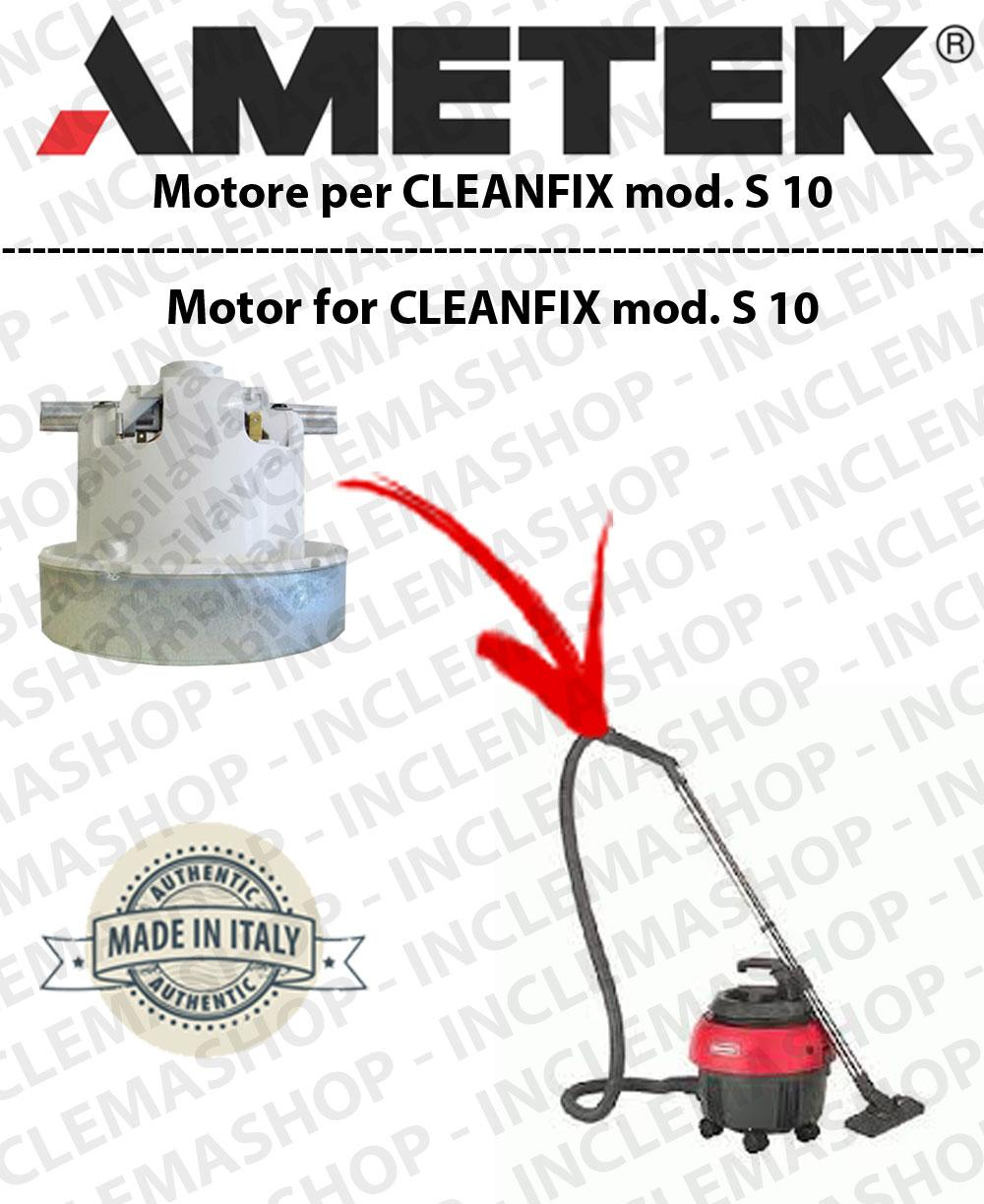 S 10 Saugmotor AMETEK für Staubsauger CLEANFIX