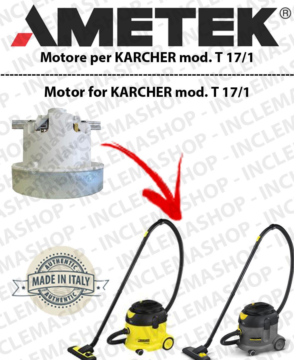 T 19/1 Saugmotor AMETEK für Staubsauger KARCHER