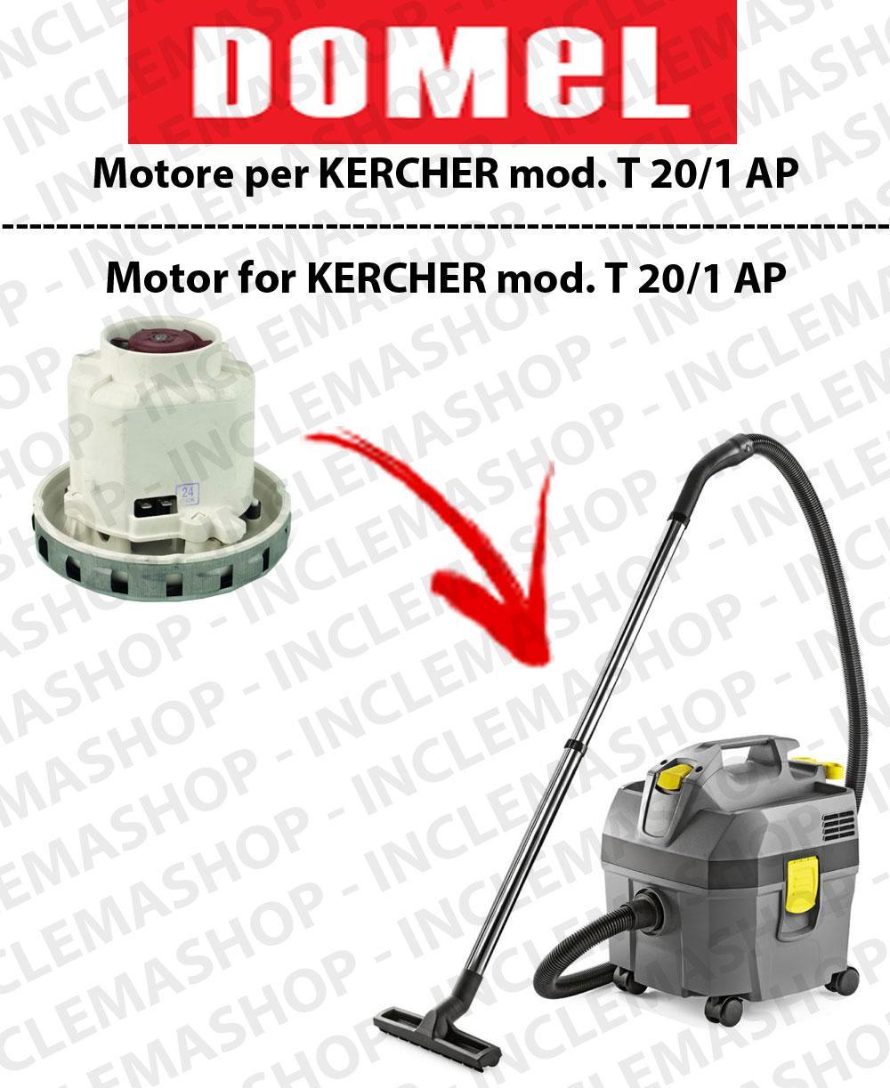 NT 20/1 AP moteur aspiration DOMEL pour aspirateurs KARCHER