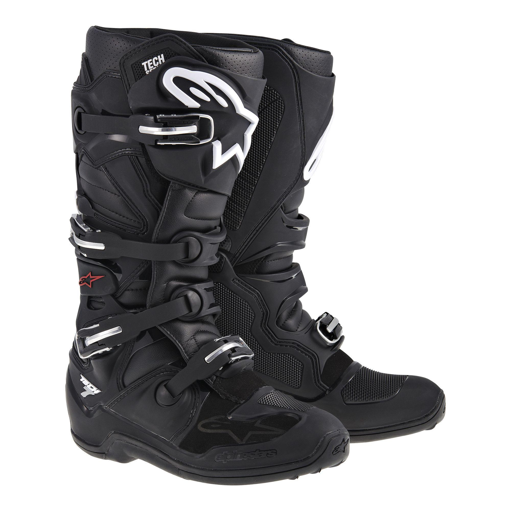 STIVALI MOTO CROSS ALPINESTARS TECH 7 BLACK