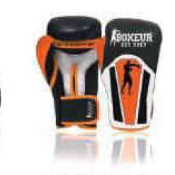 BOXEUR DES RUES Serie Fight Activewear, Guantoni da Boxe Unisex Adulto