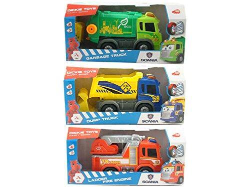 Happy Trucks cm. 25, con luci e suoni -3 asst. 200816001321 SIMBA NEW