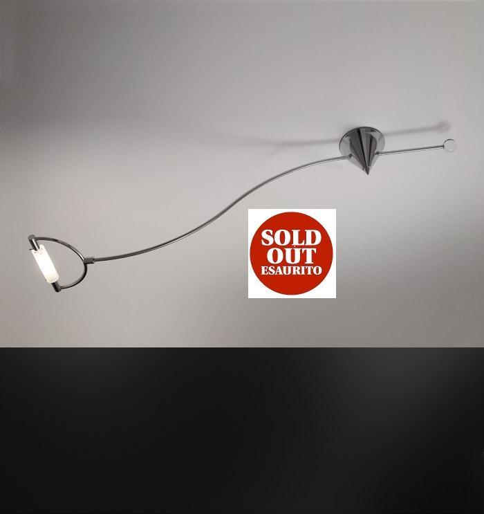 Lampada soffitto ARCHETTO GIRO cromo con R7s 120watt