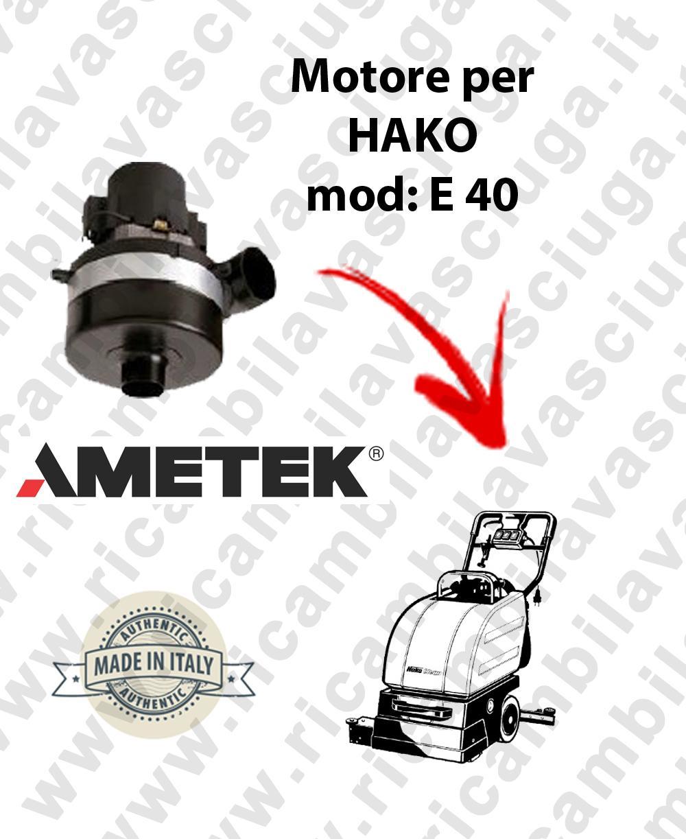 E 40 Saugmotor AMETEK für Scheuersaugmaschinen HAKO