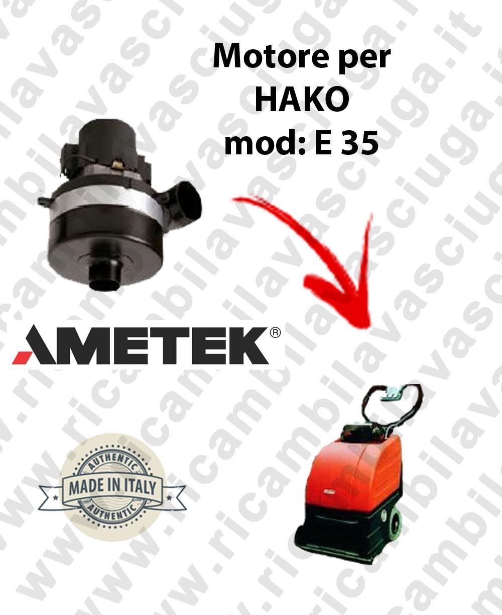 E 35 Saugmotor AMETEK für Scheuersaugmaschinen HAKO
