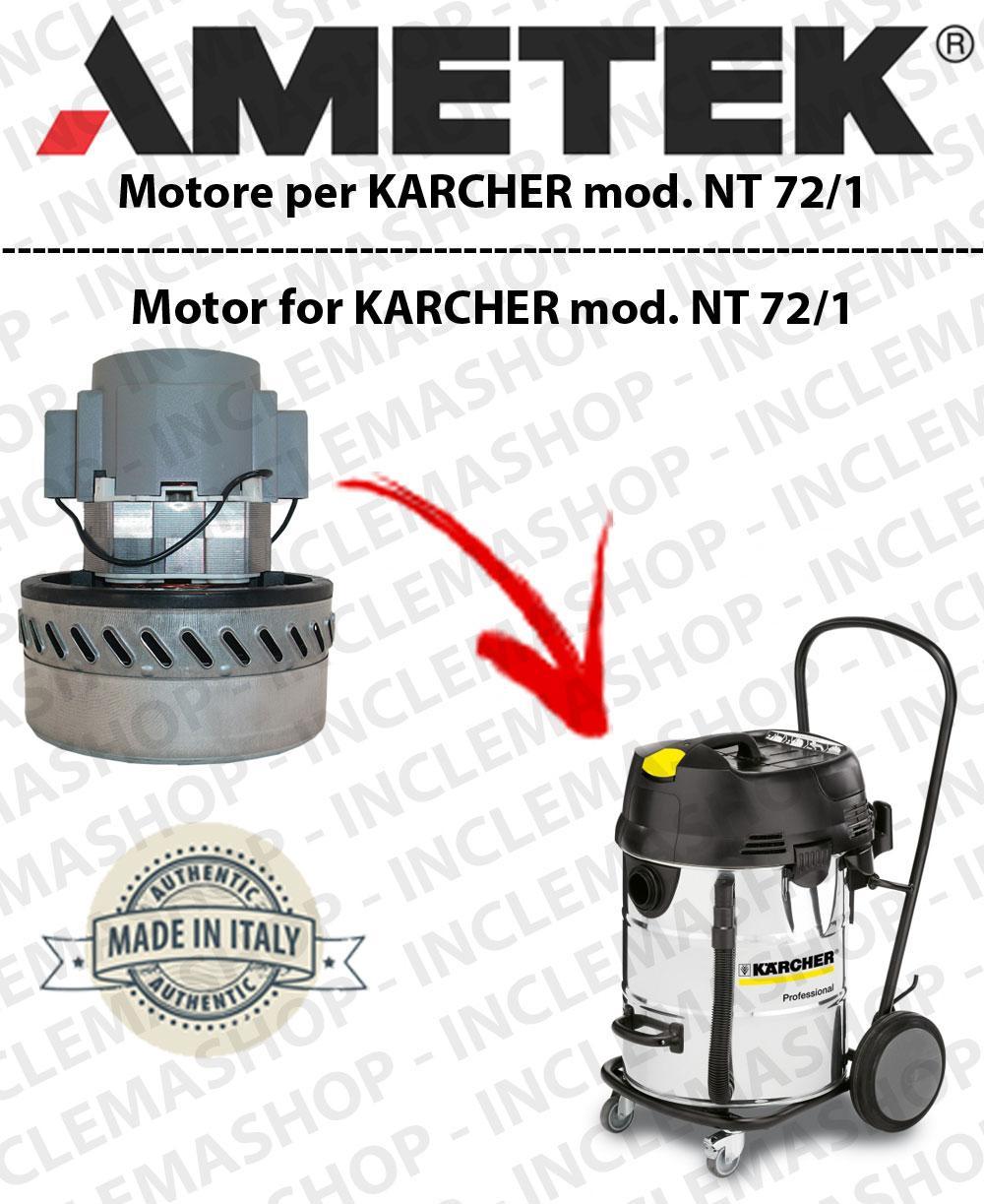 NT 72/1 moteur aspiration AMETEK  pour aspirateurs KARCHER