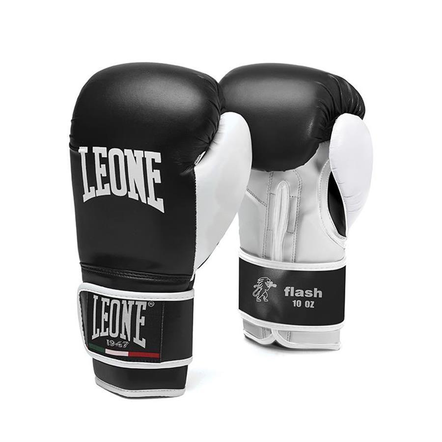 GUANTONI BAMBINO BOXE LEONE FLASH  NERO GLOVES MUAY THAI BOXE KICK BOXING