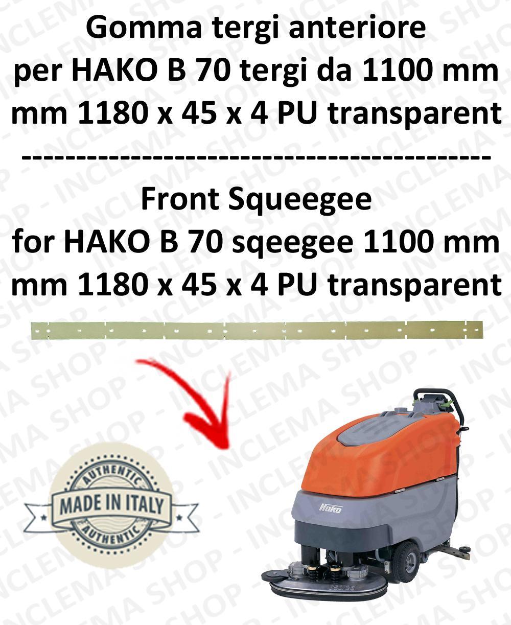 B 70 Vorne Sauglippen von 1100 mm für Scheuersaugmaschinen HAKO