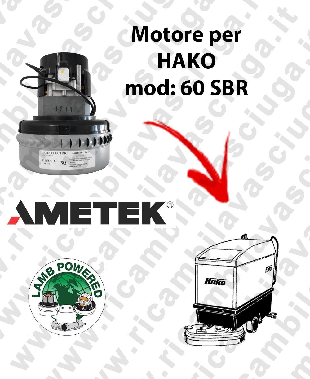SBR 60 Saugmotor LAMB AMETEK für Scheuersaugmaschinen HAKO