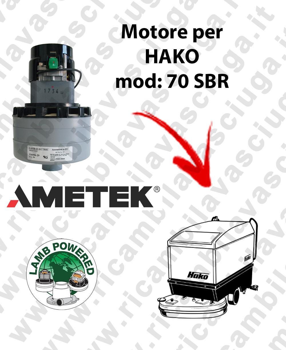 SBR 70 Saugmotor LAMB AMETEK für Scheuersaugmaschinen HAKO