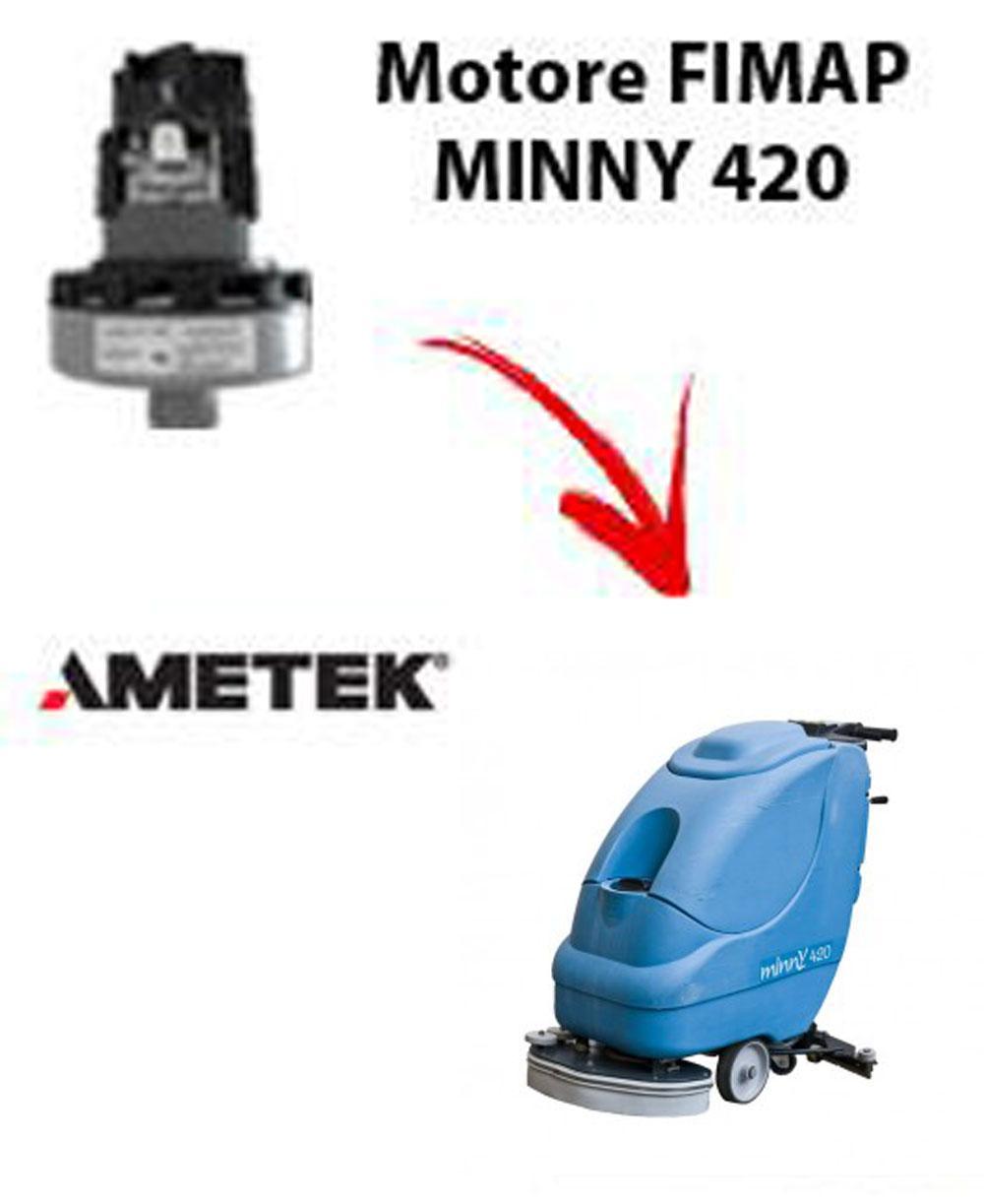 Motore Ametek di aspirazione per lavapavimenti FIMAP MINNY 420