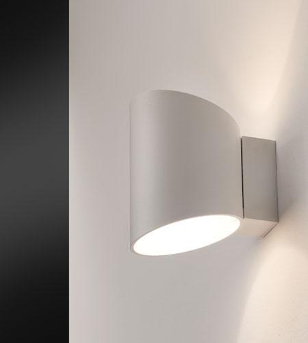 ZIP 14 applique alluminio bianco LED