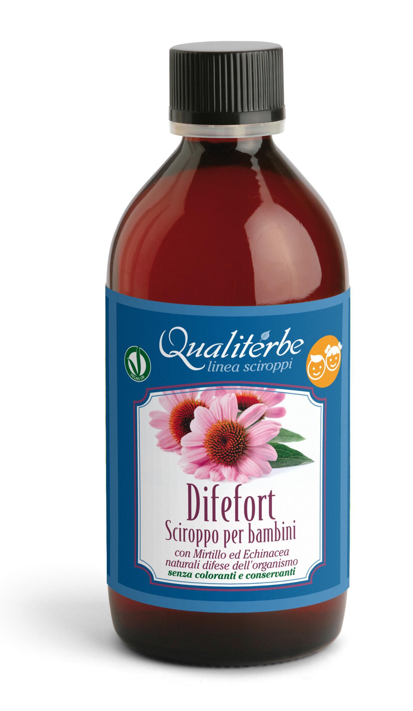 Qualiterbe - Difefort Sciroppo per Bambini 200 ml