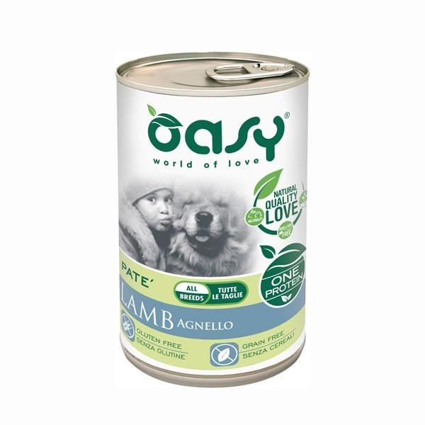 OASY DOG ADULT MONOPROTEICO AGNELLO 400 G