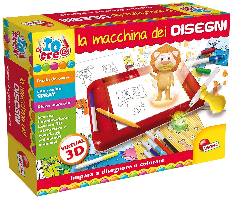 LISCIANI GIOCHI LA MACCHINA DEI DISEGNI 63758