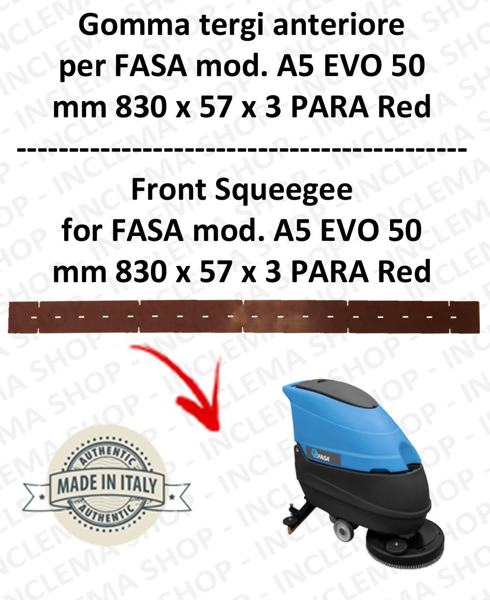 A5 EVO 50 Bavette autolaveuses avant pour FASA