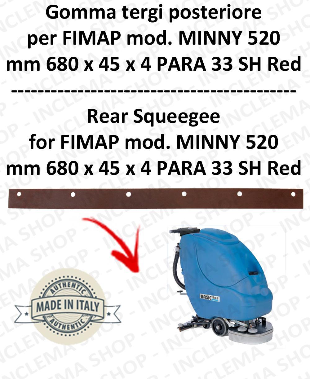 MINNY 520 Bavette ARRIERE pour autolaveuses FIMAP
